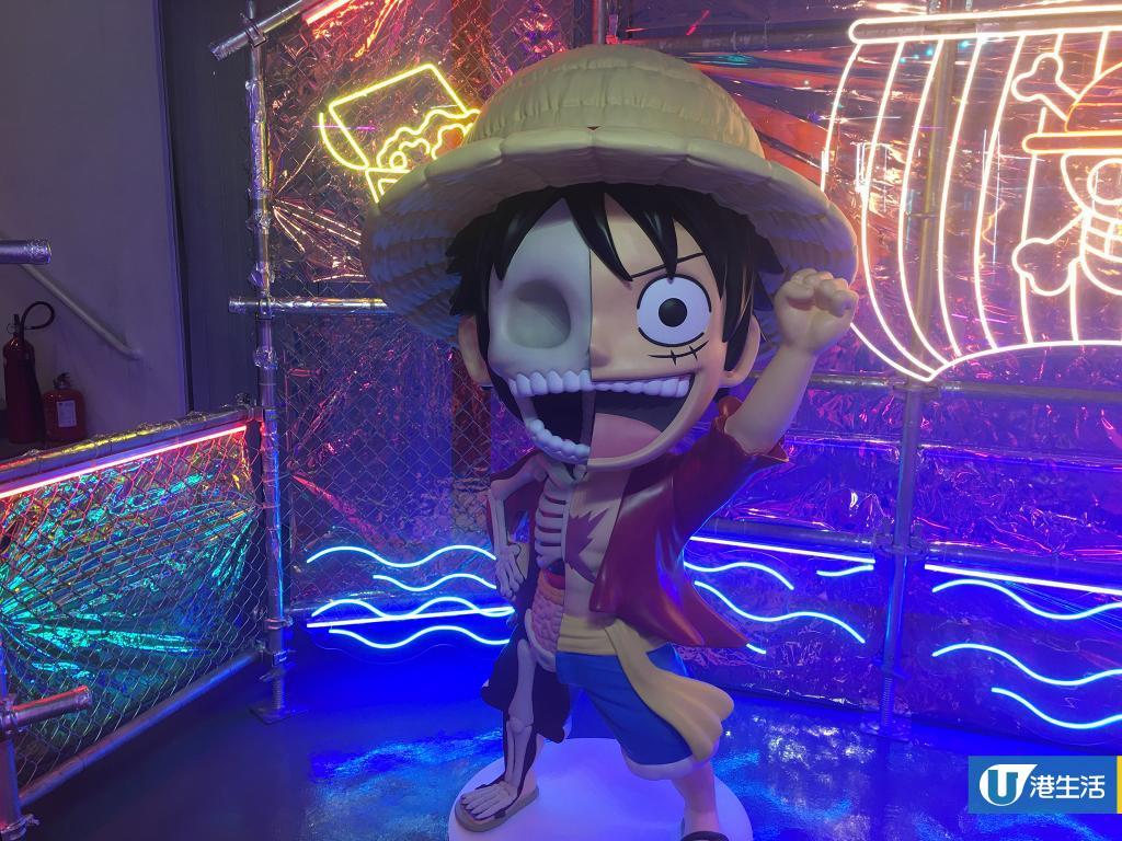 【尖沙咀好去處】全港首個Jason Freeny透視Art Toy藝術館 1:1海賊王雕塑/3米高ELMO/期間限定店