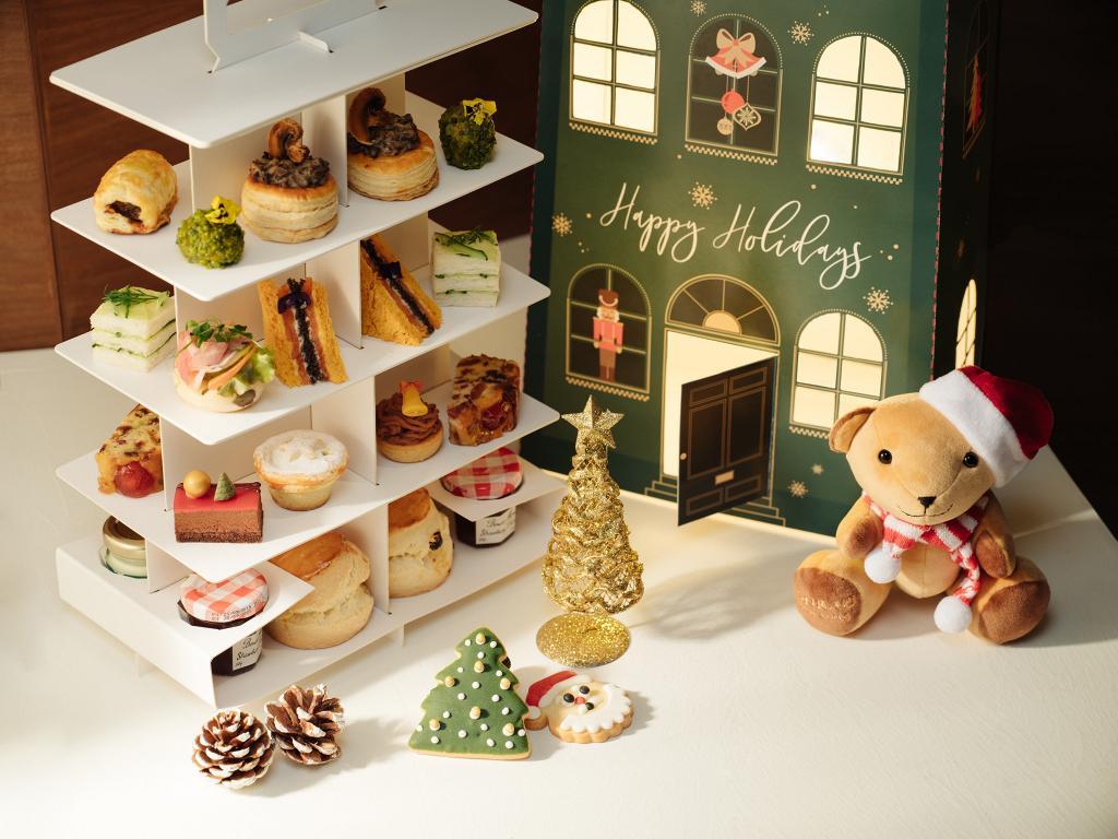 【聖誕下午茶2020】港麗酒店Conrad全新聖誕下午茶 9折外賣優惠!聖誕曲奇/英式鬆餅/朱古力慕斯