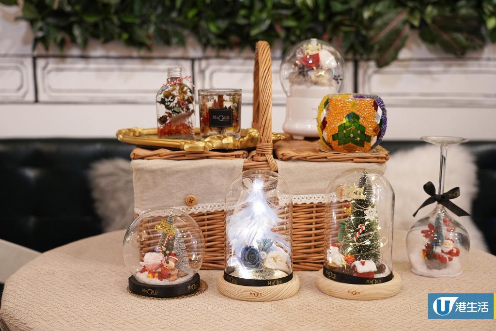 【銅鑼灣好去處】銅鑼灣DIY聖誕擺設工作坊 大豆香薰蠟燭/聖誕玻璃雪球