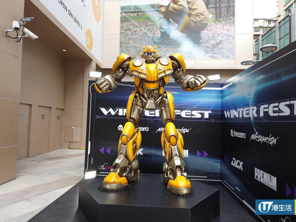 【尖沙咀好去處】變形金剛/Iron Man模型展登陸尖沙咀!2.5米高Transformer大黃蜂/多款經典模型