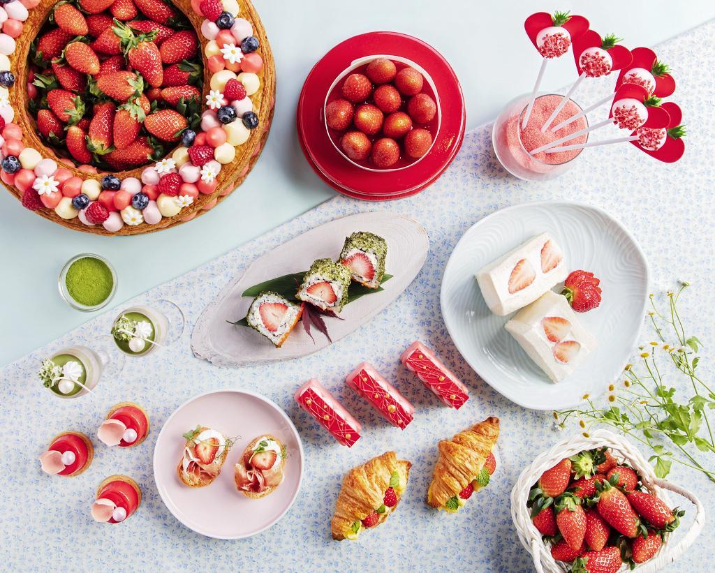 【旺角美食】帝京酒店士多啤梨甜品下午茶自助餐  任食巨型千層酥/草莓芝士蛋糕/人氣草莓三文治
