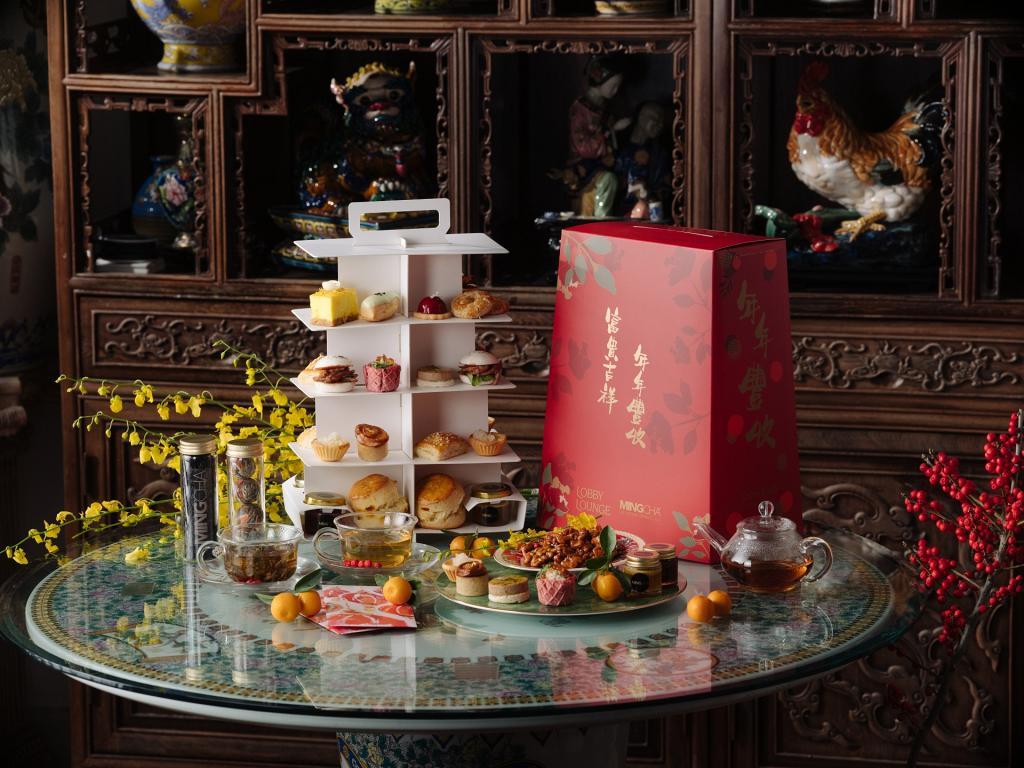 【酒店下午茶2021】香港港麗酒店推出全新下午茶 桂花芝士蛋糕/烏龍牛奶朱古力慕絲/迷你鮑魚撻