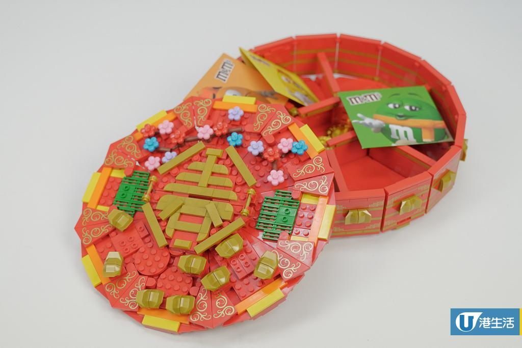 【新年2021】2大DIY賀年禮物推介 自製賀年積木全盒/大吉大利金桔樹音樂盒