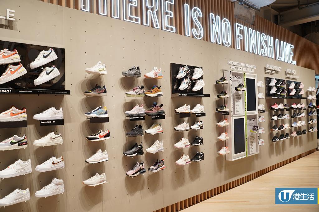 【尖沙咀好去處】過萬呎2層高Nike Store登陸尖沙咀 首間女性概念店/獨家客製化服務