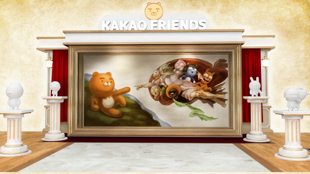 【沙田好去處】KAKAO FRIENDS藝術館登陸沙田!設6大影相位亂入世界名畫+期間限定店
