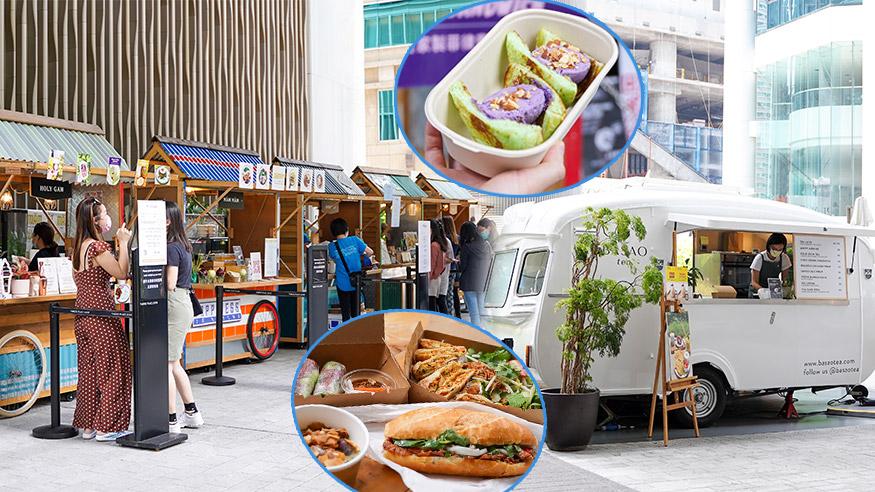 【市集2021】太古糖廠街市集5月街頭美食節 匯聚多國美食!香芋雪糕三文治/越南地道小食