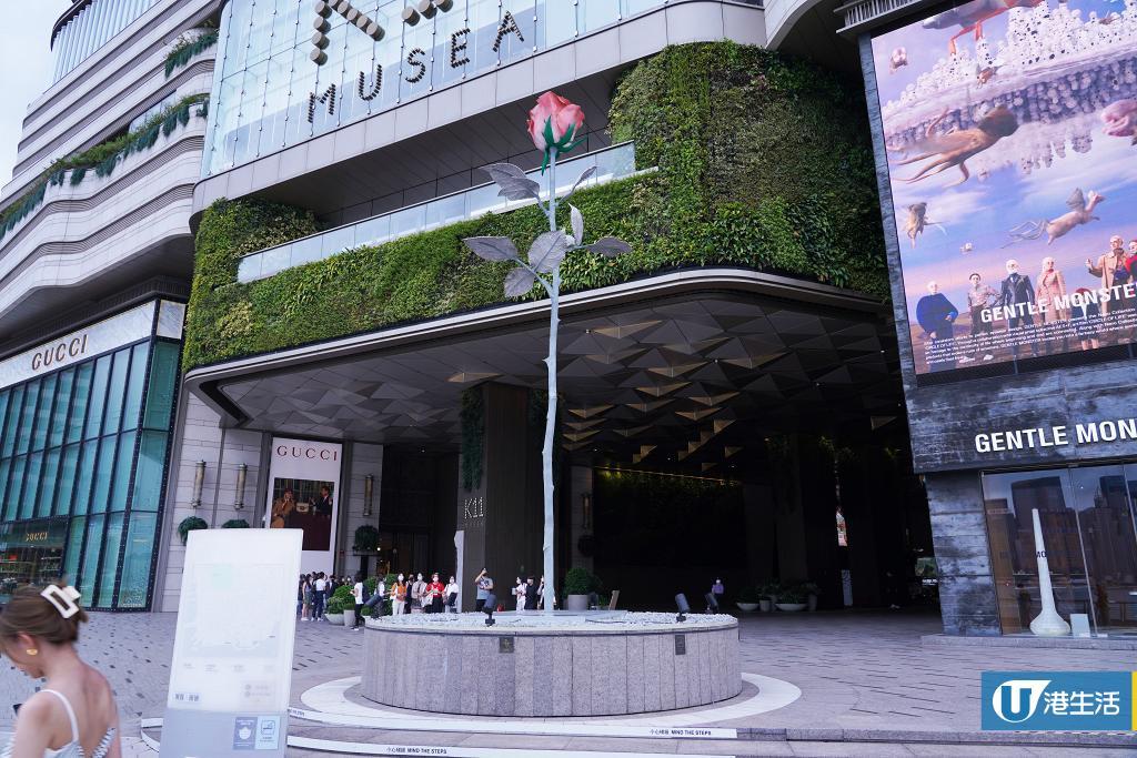 【週末好去處】K11 Musea期間限定大型藝術嘉年華 8.5米玫瑰/超現實藝術裝置/抽象畫展