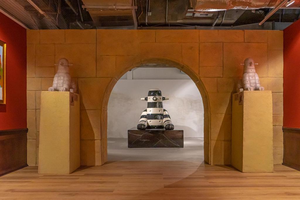 【中環好去處】神秘地下博物館登陸中環!大英博物館概念設計/復活節島摩艾像/光影鏡面世界