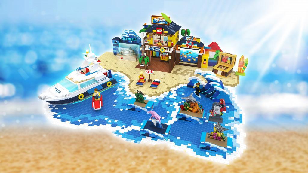 【暑假好去處】LEGO最新大型城市樂園!全港6大商場設1:25放大版樂高場景/海洋世界/露營主題區