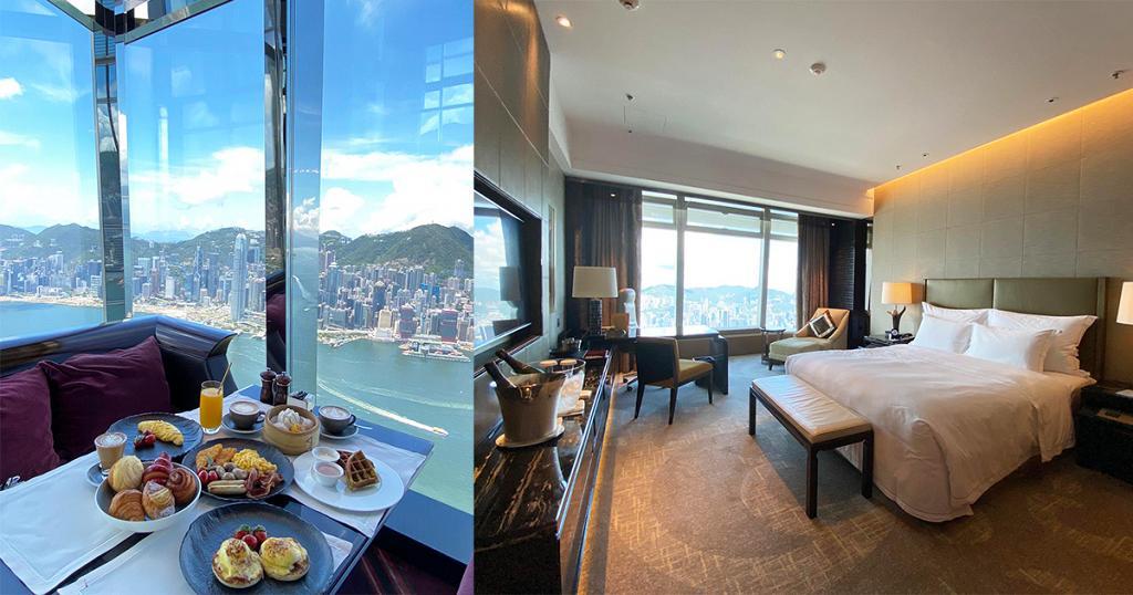 【酒店優惠2021】Ritz Carlton香港麗思卡爾頓酒店Staycation優惠 升級維港海景房包三道菜晚餐