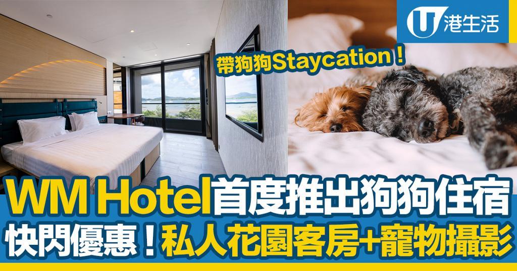 【WM Hotel】西貢新酒店WM Hotel Staycation優惠 首推狗狗住宿/海景露台房包下午茶/無邊際泳池