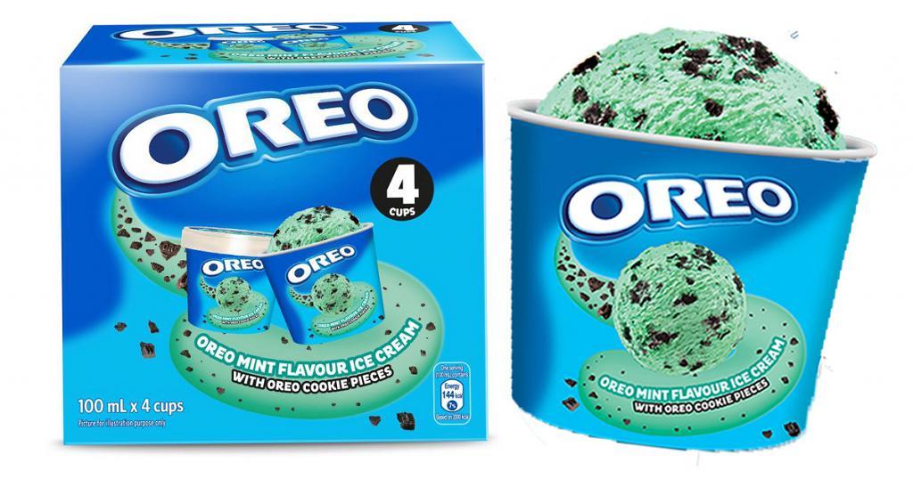 全新OREO薄荷味雪糕杯限時優惠!指定超市全線OREO雪糕批/杯裝雪糕$80兩件