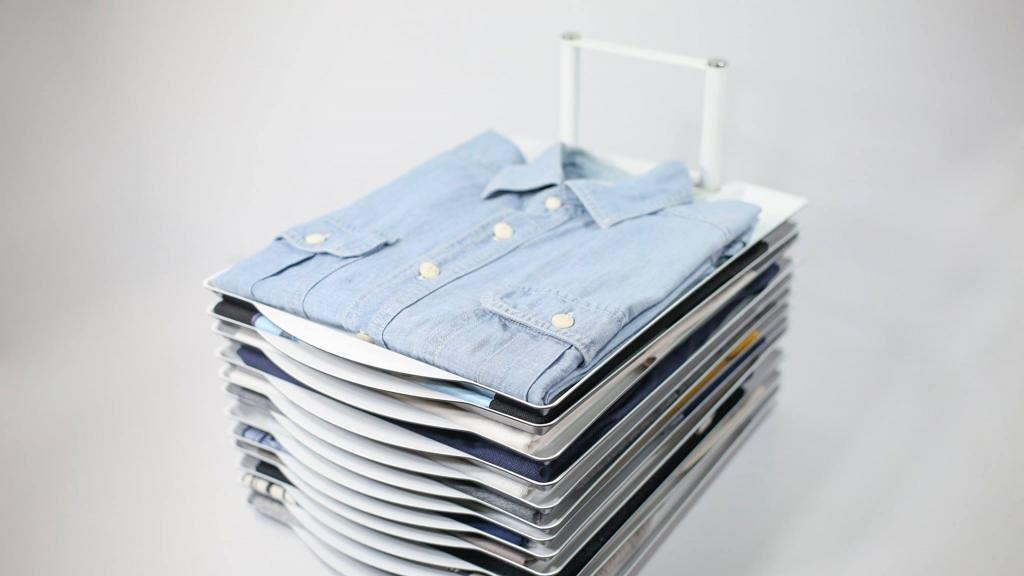 【網購優惠】衣服收納神器攞衫超方便!獨立層架擺衣物點拎都唔亂