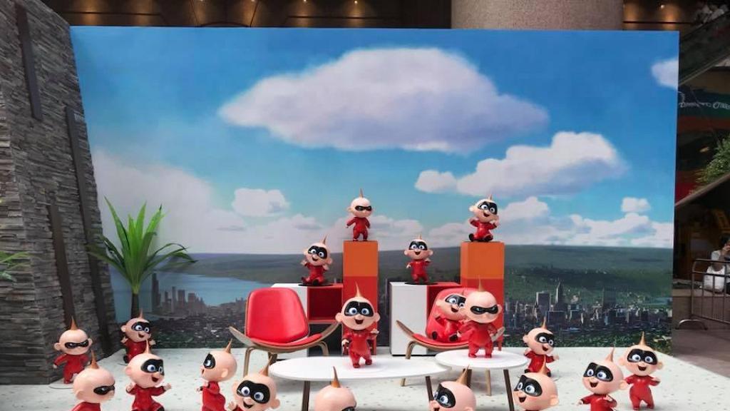 【銅鑼灣好去處】超人特工隊登陸銅鑼灣!期間限定店/4米巨型積積