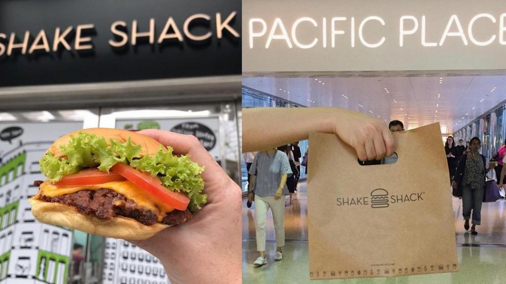 【金鐘美食】過江龍漢堡品牌Shake Shack香港第二分店 新店即將登陸太古廣場