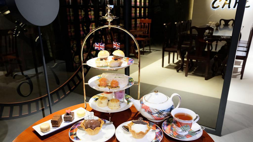 【銅鑼灣美食】Vivienne Westwood兩層旗艦店開幕 2人主題Tea Set+推主菜熱食