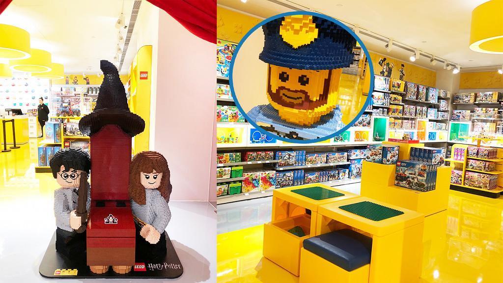 【太古新店】2千呎LEGO新店登陸太古!哈利波特影相位/展覽/全港首個互動LEGO