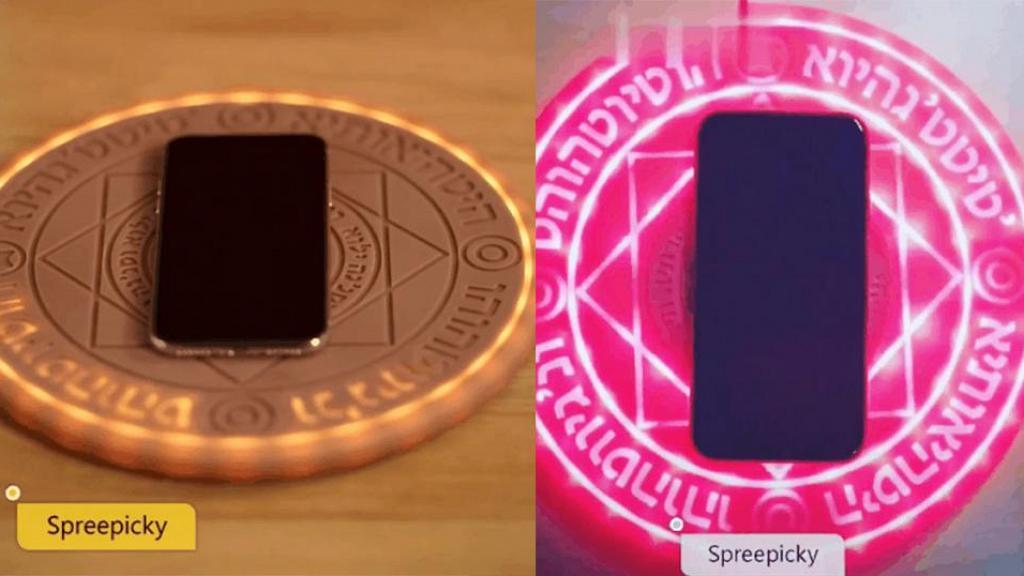 魔法陣無線手機充電器開賣! 2大色系/支援不同型號