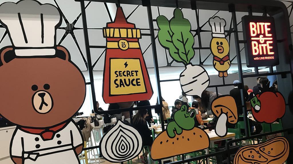【香港機場美食】Line Friends主題餐廳Bite & Bite新開幕 美食+影相位率先睇