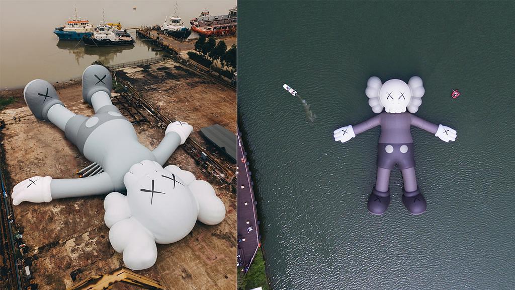 37米巨型KAWS藝術裝置預告3月登陸維港!臥姿KAWS+全球限量香港區獨家精品登場