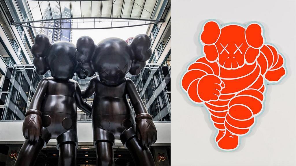 【上環好去處】上環PMQ免費睇KAWS展覽 37件巨型雕塑/畫作一睹10年創作歷程