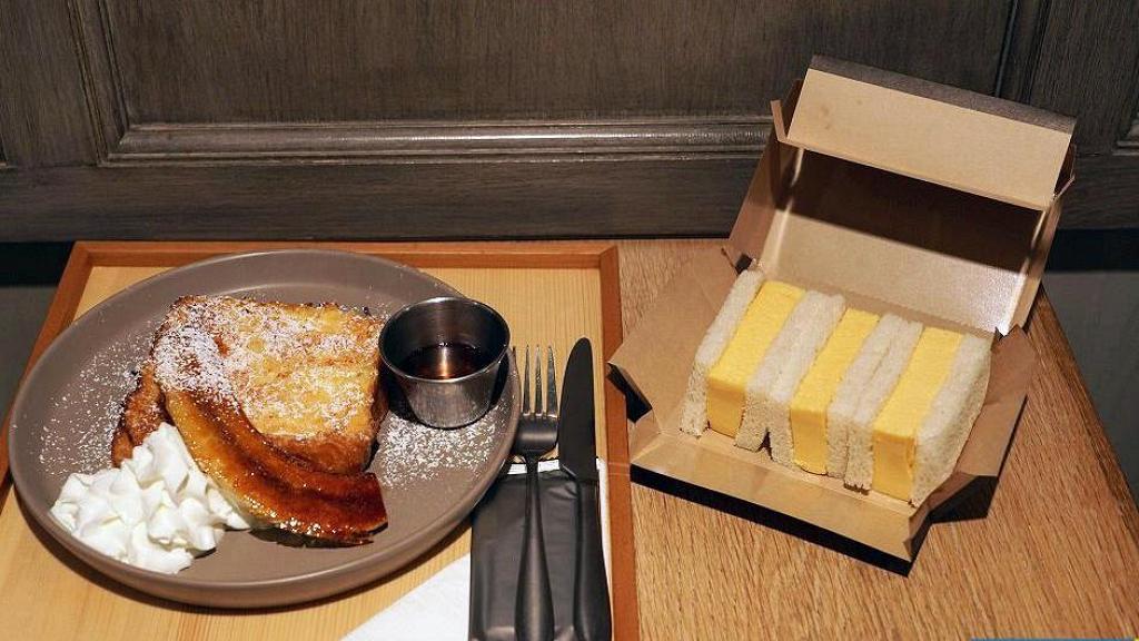 【灣仔美食】利東街日本人氣過江龍咖啡店 超厚玉子蛋三文治/焦糖香蕉法式多士