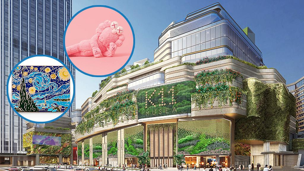 亞洲最大!6千呎藝術設計館MoMA進駐尖沙咀 Andy Warhol/草間彌生/梵高/畢加索
