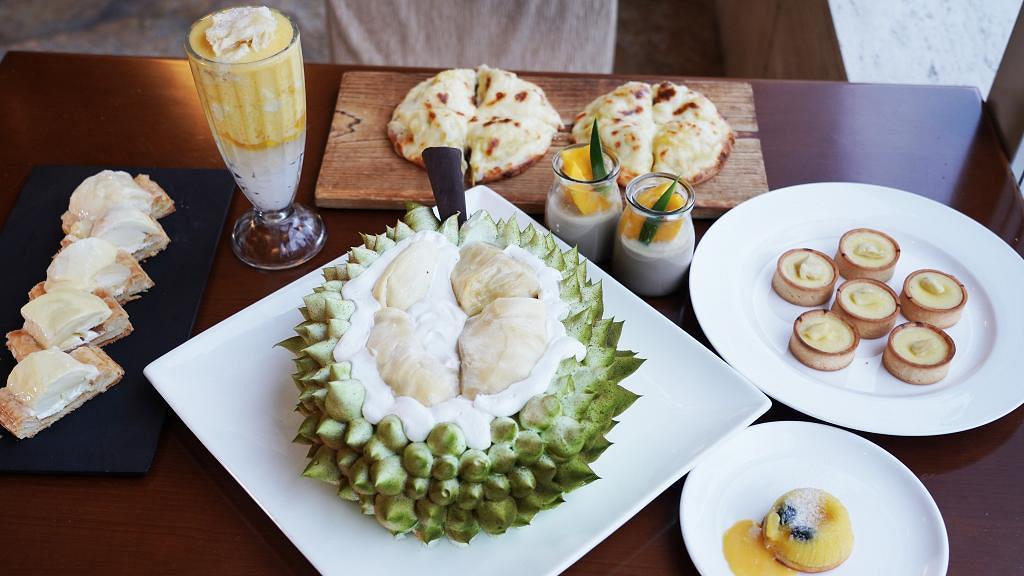 【紅磡美食】紅磡酒店榴槤主題下午茶自助餐 任食榴槤芝士薄餅/流心布甸/蛋糕