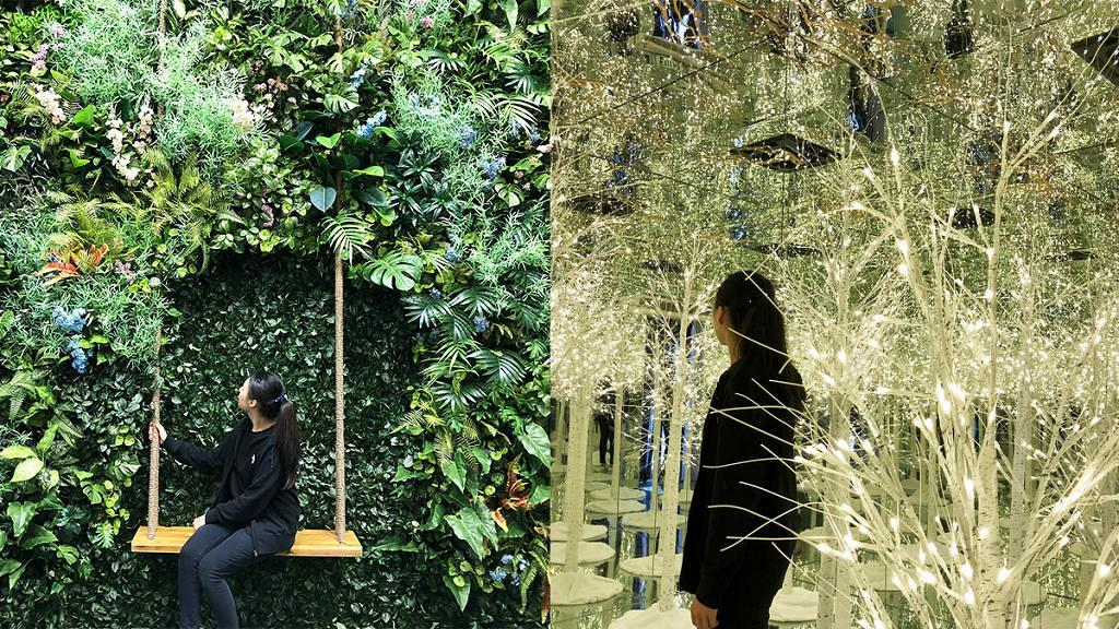 【銅鑼灣好去處】銅鑼灣時代廣場6大彩色小屋!森林鞦韆/光影雪景/沙漠仙人掌