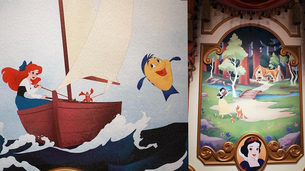 迪士尼樂園首次披露公主嫁王子「婚後生活」故事!8幅壁畫彩蛋+全新結局曝光