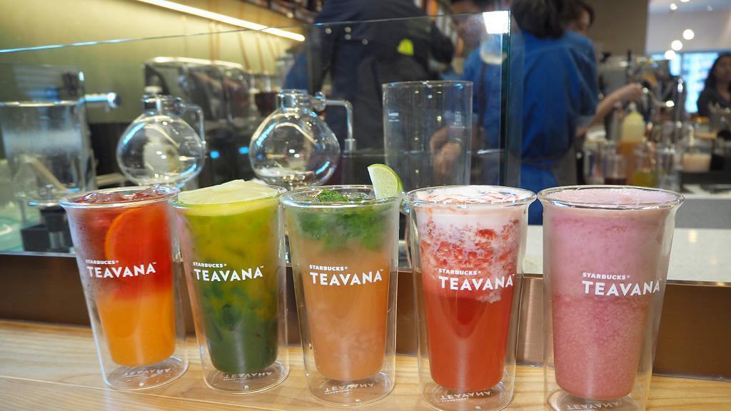 【觀塘美食】觀塘全新Starbucks Teavana Bar開幕 8款香港獨有水果茶飲登場
