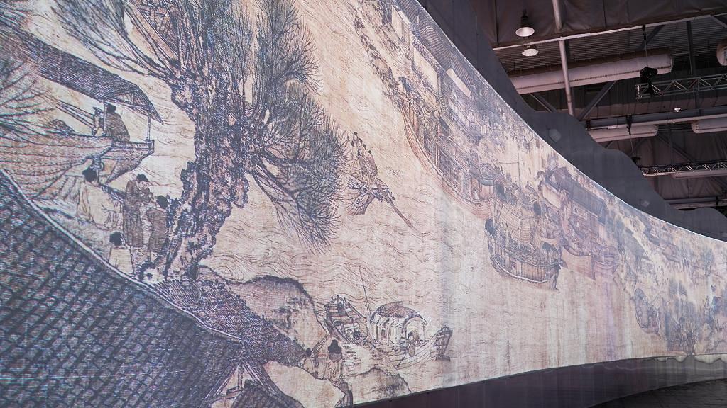 【暑假好去處】《清明上河圖3.0》數碼藝術展 180度球幕影院睇盡汴河日與夜