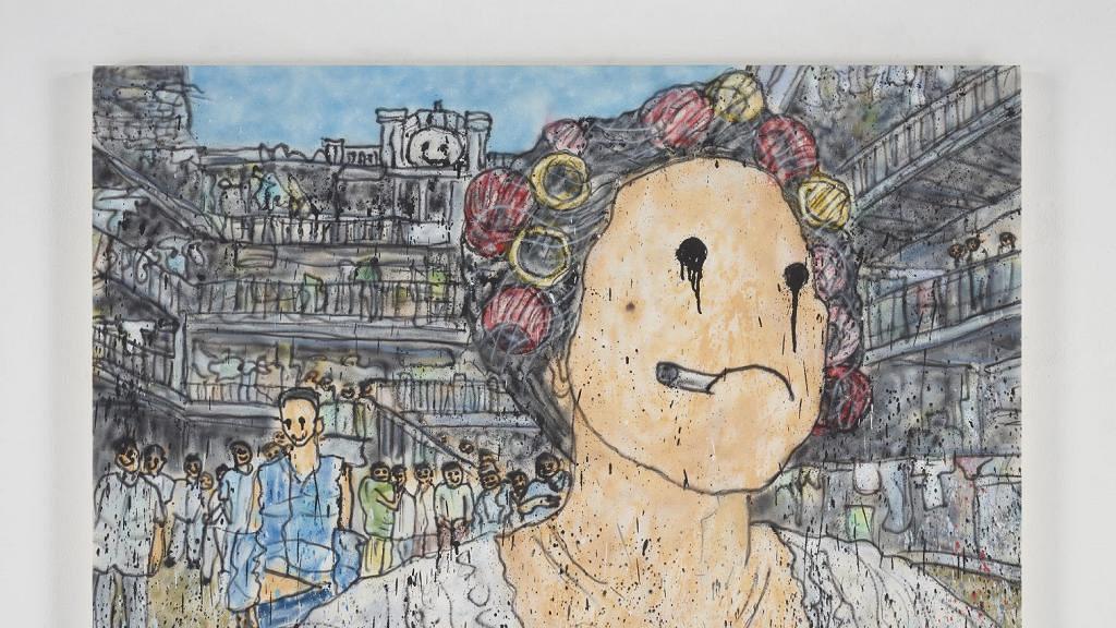 【中環好去處】日本藝術家MADSAKI展登陸中環 周星馳、王家衛港產片變塗鴉畫作
