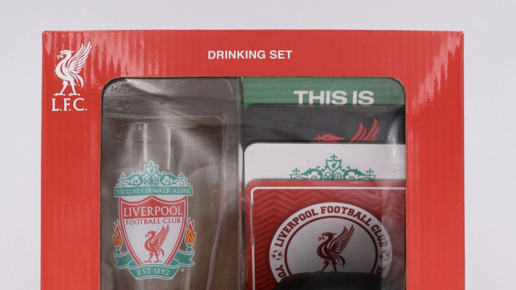 7-Eleven便利店推利利物浦官方授權主題產品 迷你足球機/骰盅/玻璃杯