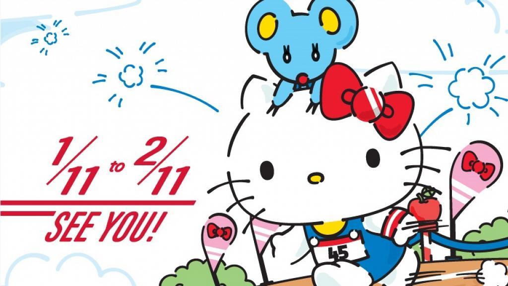 【西九龍好去處】香港首個Hello Kitty戶外跑步+野餐!11月西九開鑼/早鳥優惠