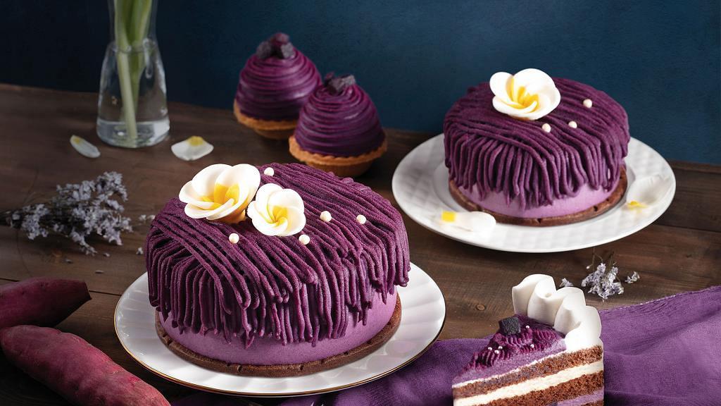 聖安娜餅屋季節限定蛋糕登場 沖繩紫薯黑糖麻糬蛋糕/麻糬撻