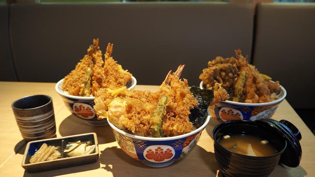 【灣仔美食】日本人氣天丼店金子半之助再開新分店 3款招牌天丼第2碗限時半價