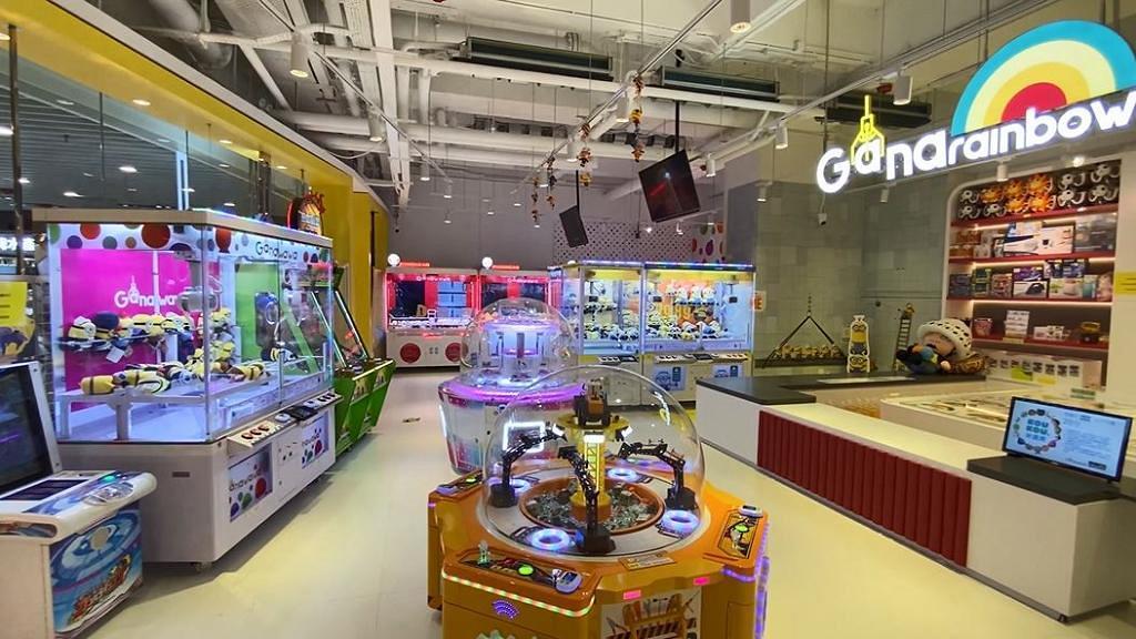 1400呎GANAWAWA室內遊樂中心開幕!近20部卡通夾公仔機/掟彩虹/遊戲機