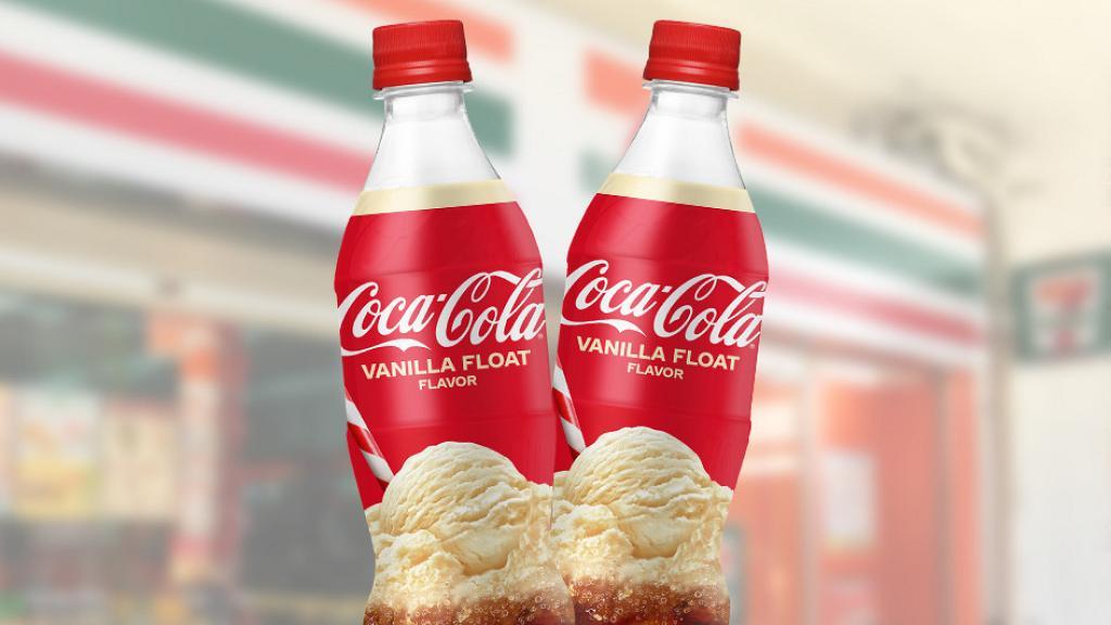 香港便利店有售!經典人氣雲呢拿味可口可樂回歸