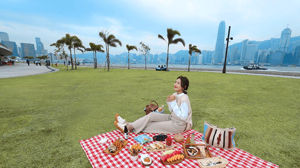 【佳節好去處】西九藝術公園 無敵海景野餐踩單車睇展覽