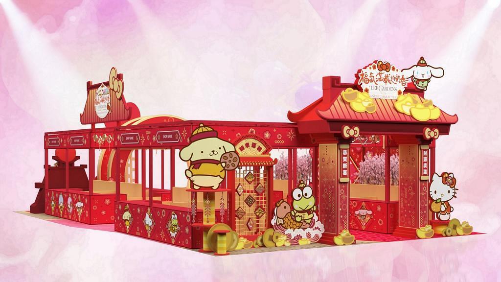 【新年好去處2020】Sanrio新春市集登陸銅鑼灣!6大人氣卡通造型美食/賀年禮品