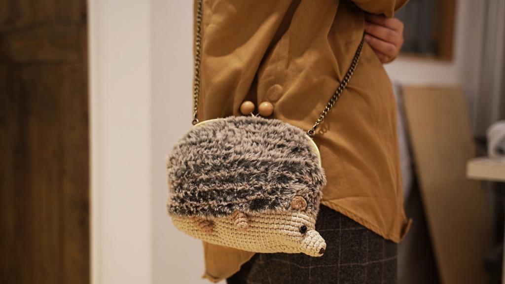 【上環好去處】上環毛茸茸刺蝟袋鈎織DIY工作坊 兼整超可愛樹懶/織袋/巨型大桔