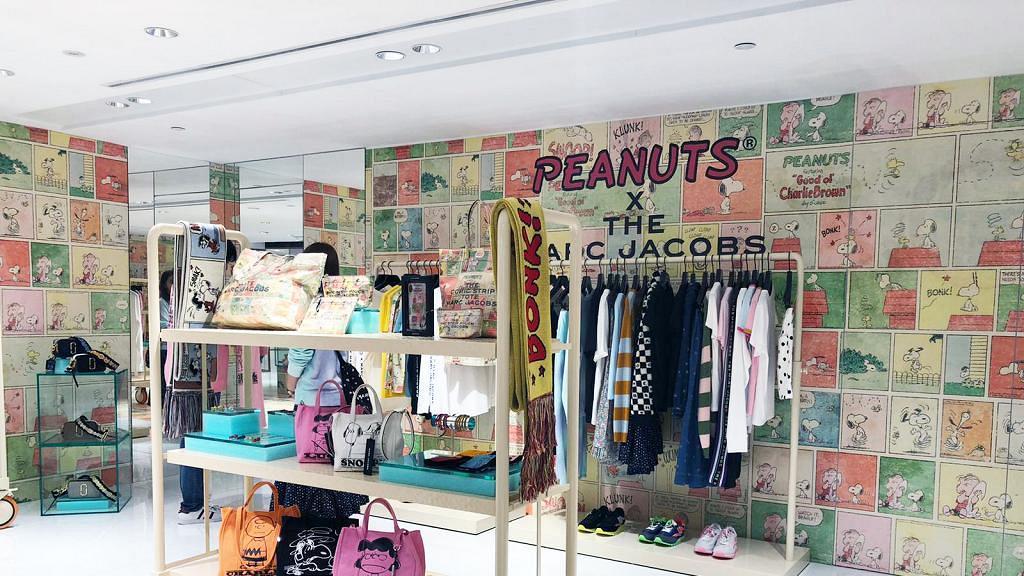 【銅鑼灣好去處】PEANUTS X THE MARC JACOBS期間限定店 Snoopy袋/運動鞋/服飾