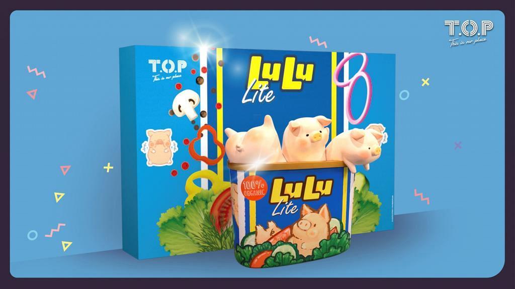 【情人節好去處2020】3米高巨型LULU豬登陸旺角 肥嘟嘟午餐肉罐頭豬LULU影相位