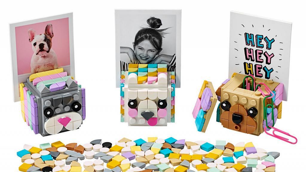 LEGO推手工藝系列DOTS新品!砌出專屬手環/飾物架/動物飾盒/筆座