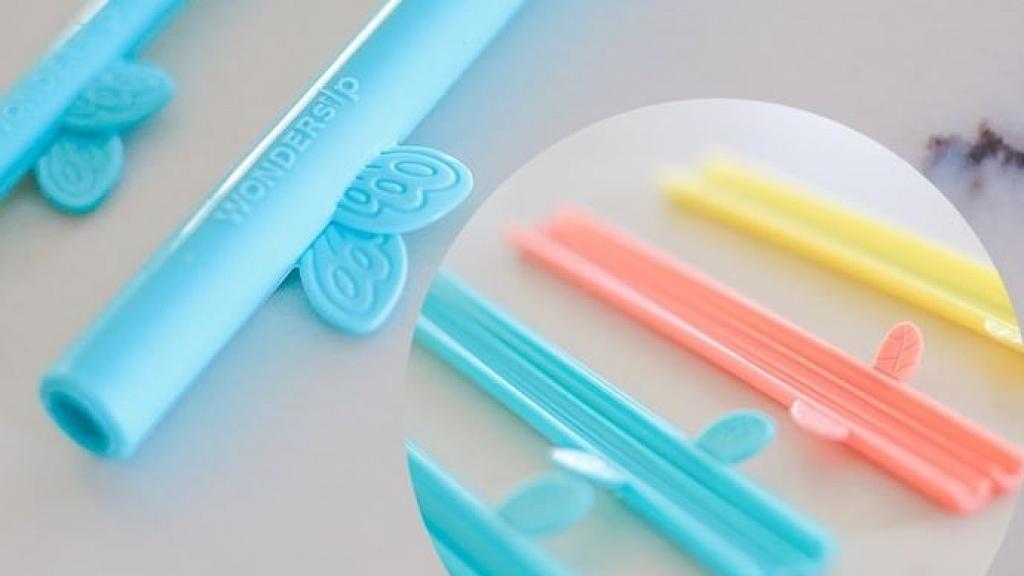 【網購優惠】美國設計可重用環保飲管WonderSip!無須用清潔刷 啪開隨時清潔