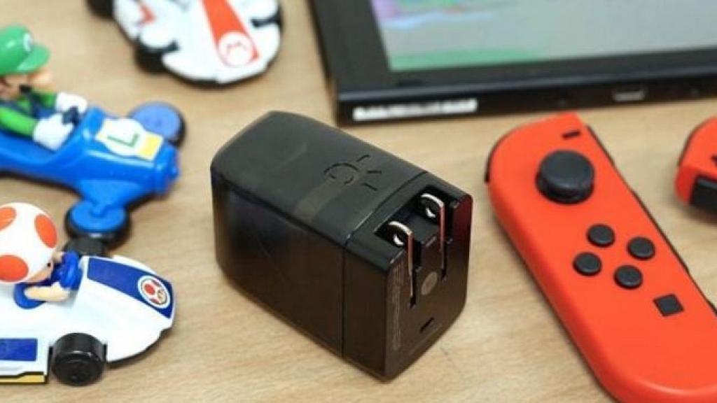 Switch專用充電器+底座二合一裝置!超細體積/多合一設計 方便帶出街玩