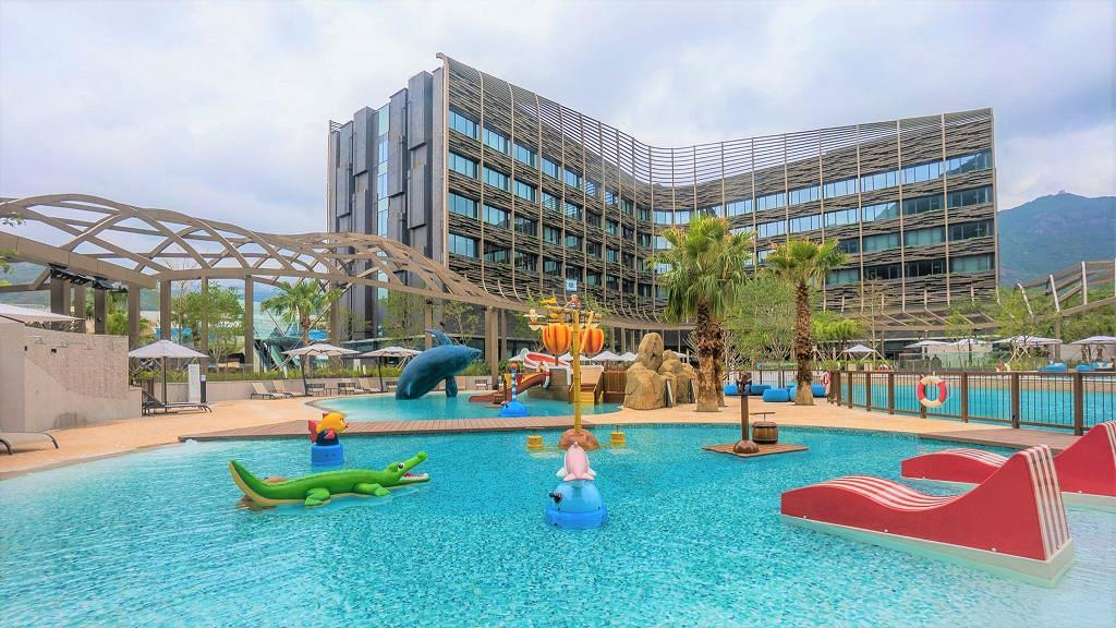 【海洋公園】萬豪酒店推住宿+自助餐飲食優惠 包自助餐+3張海洋公園門票