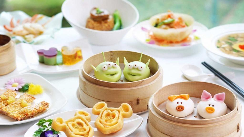 【迪士尼優惠】香港迪士尼樂園酒店可愛造型卡通點心!$393嘆三眼仔包/Duffy甜品/米奇薄餅