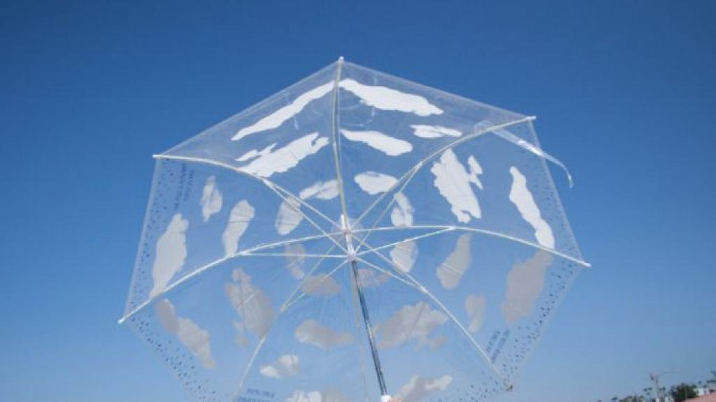 【網購優惠】5款日本透明雨傘限時優惠!晴雨兼用 透出藍天白雲/可愛貓貓/綠葉/海浪圖案